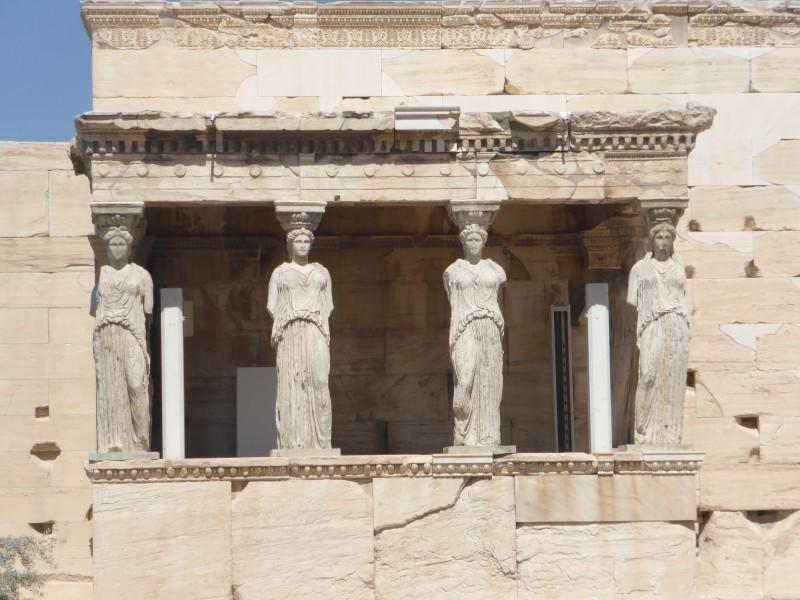 Kariatides Acropole Atenas