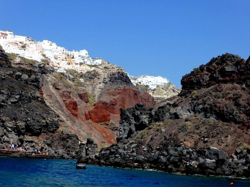 Cruzeiro em Santorini