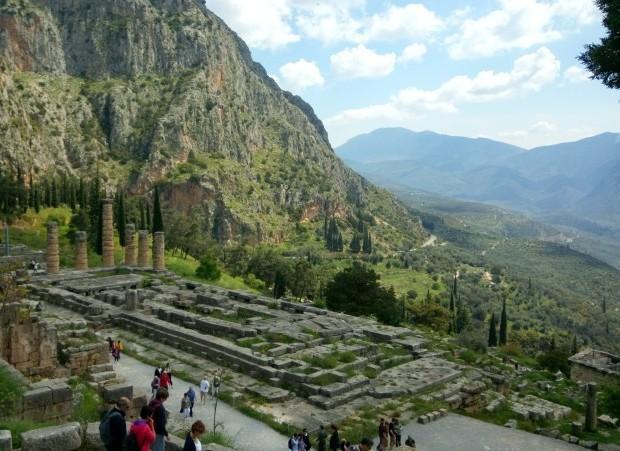 Sítio arqueológico de Delfoi - Grécia