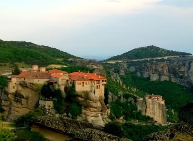 Mosteiros em Meteora - Grécia
