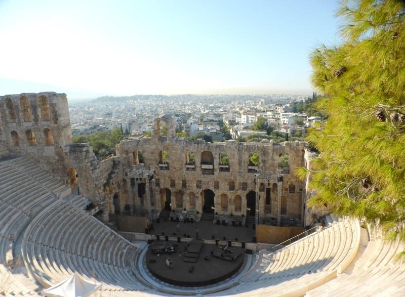 Teatro de Herodion (Odeão de Herodes Ático)