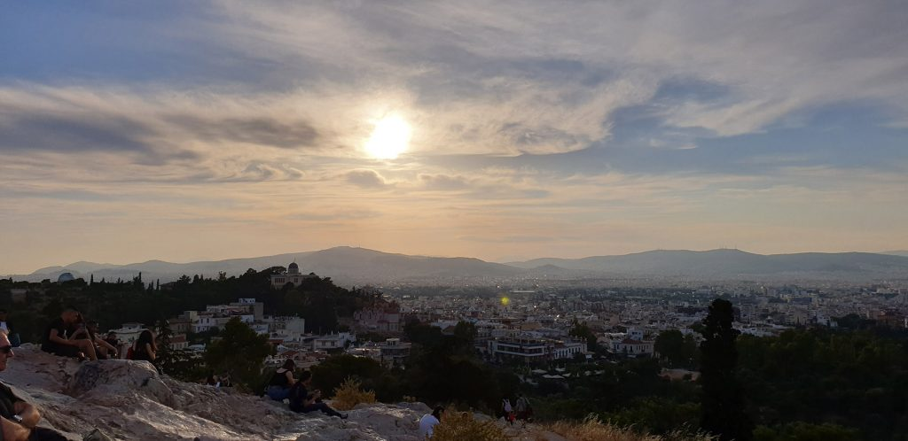 Acropolis Athens Sunset