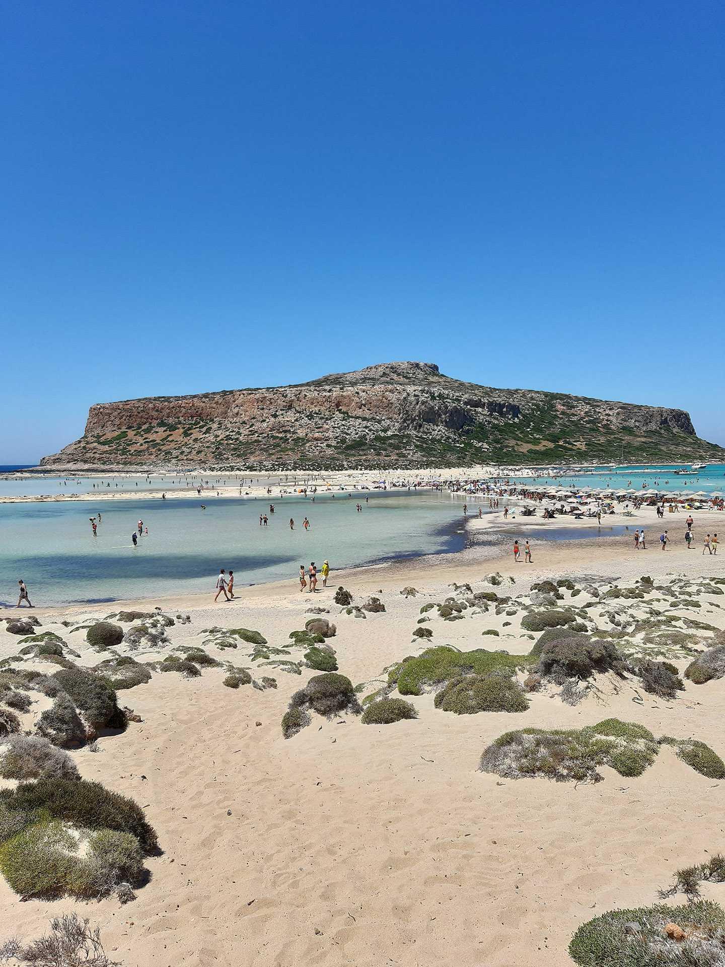 Praia de Balos, impressionante e com beleza rara