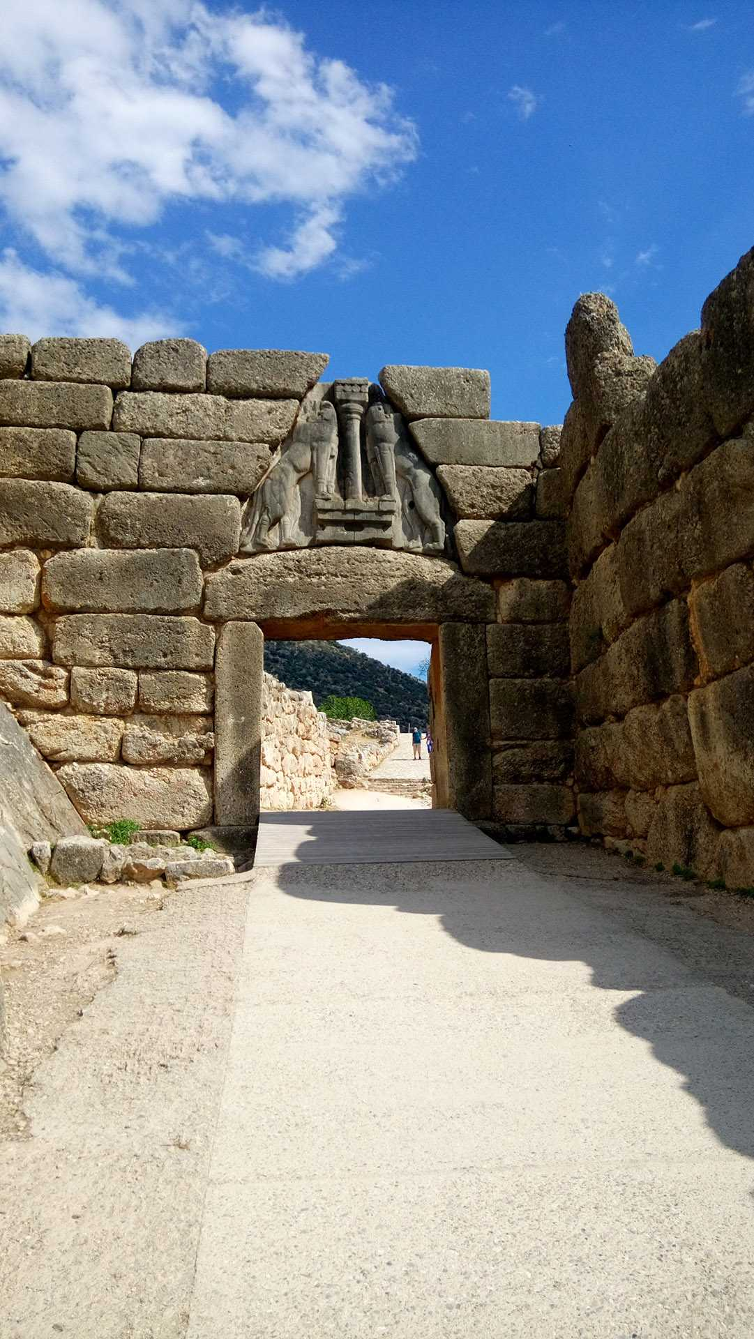 Tour para o canal de Corintho, Micenas e Epidavros