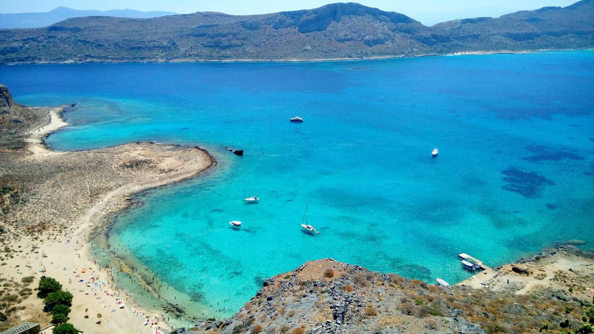 Cabo Gramvousa e praia de Balos