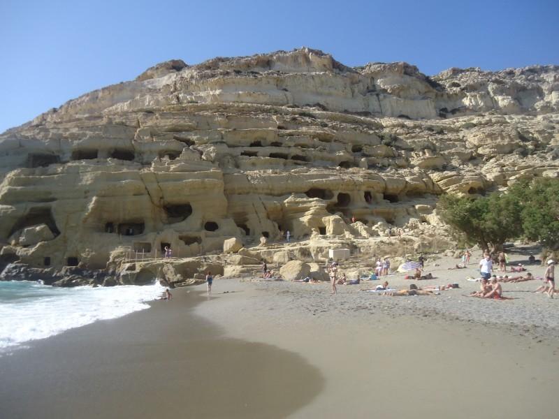 Praia de Matala