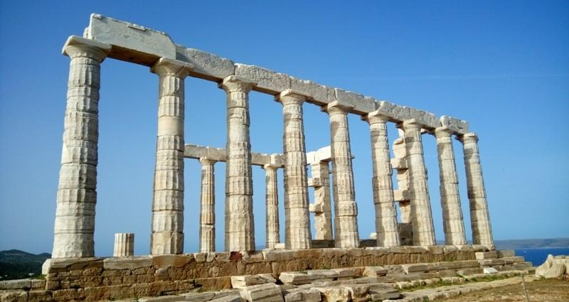 Templo de Poseidon no Cabo Sounio @agreciadoseujeitoviagens