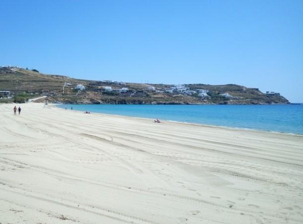 Praia de Kalo Livadi - Mykonos
