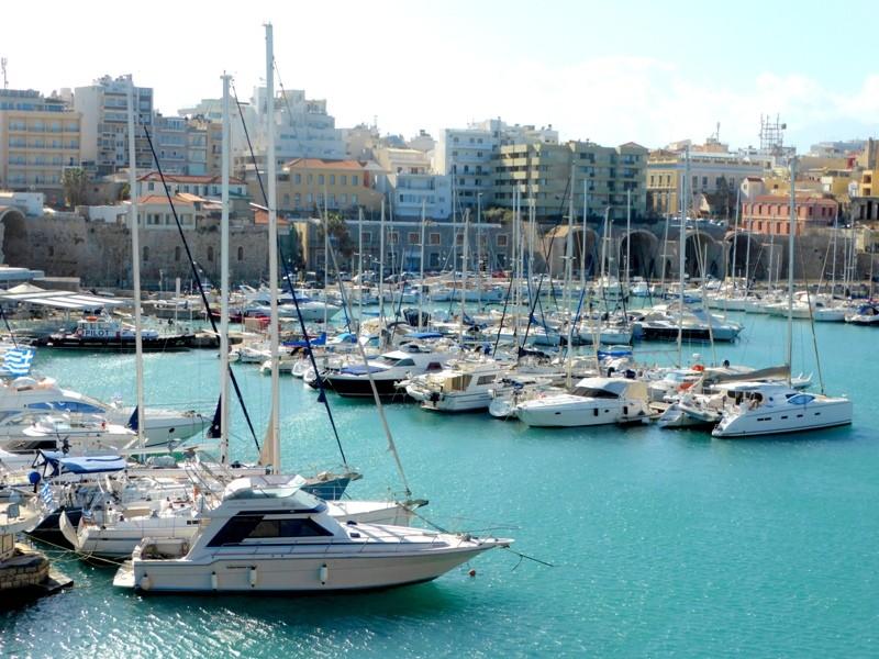 Porto veneziano de Heraklion