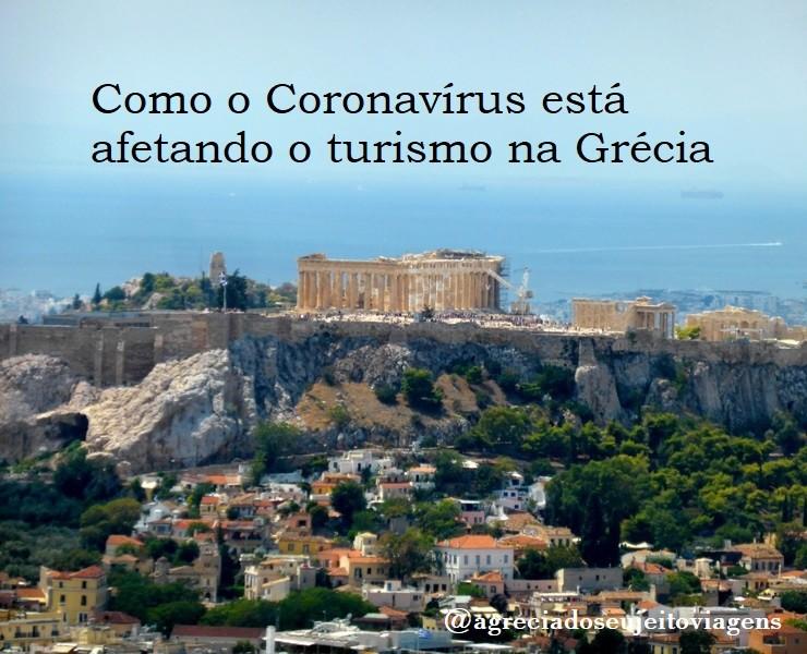 Informações em relação ao Coronavírus Covid-19 na Grécia e como está afetando o turismo
